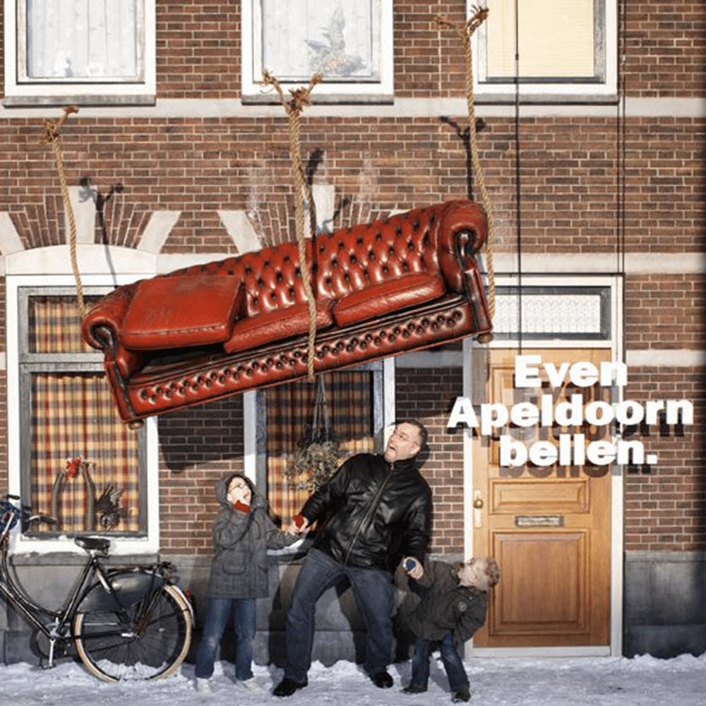 Even Apeldoorn bellen LIVE